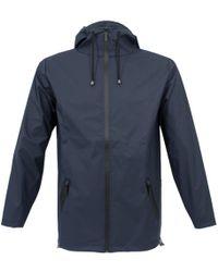Rains - Breaker Blue Jacket - Lyst