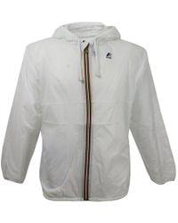 K-Way - Claude White Pac A Mac Jacket - Lyst