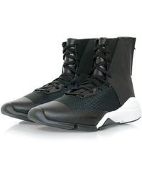 Y-3 | Future Zip High Black Boot | Lyst