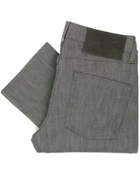 Naked & Famous - Naked And Famous Skinny Guy Grey Denim Jeans 012051 - Lyst