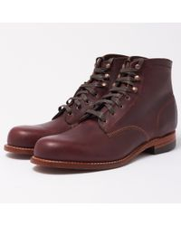 Wolverine - Cordovan Leather Boot - Lyst