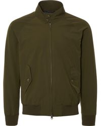 Baracuta - G9 Slim Fit Harrington Jacket - Lyst