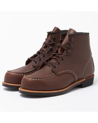 """Red Wing - 6"""" Cooper Moc Toe Boot - Lyst"""