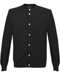 Still By Hand - Black Cardigan - Lyst