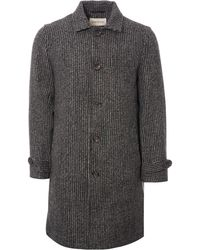 Oliver Spencer - Beaumont Coat - Banbury Charcoal - Lyst