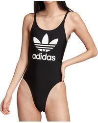 adidas Originals Trefoil Swimsuit - Black