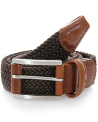 Andersons - Anderson Belts Woven Brown Braided Belt B0667 Af2949 Ne37 - Lyst