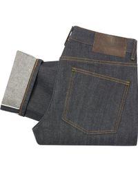 Naked & Famous - Indigo Left Hand Twill Selvedge Denim Jeans - Super Skinny Guy - Lyst