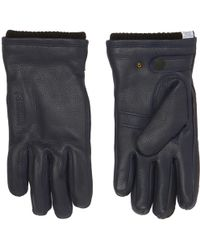 Norse Projects - Navy Utsjo Gloves - Lyst