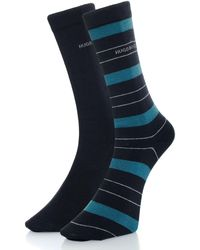 BOSS - Boss Plain Stripe Socks - Lyst