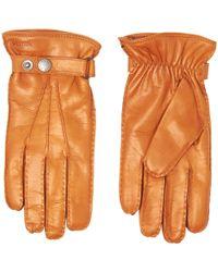 Hestra - Cork Jake Hairsheep Leather Gloves - Lyst