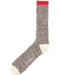 Universal Works - Brigade Soft Sock - Lyst