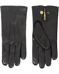 Dents - Leather Dress Black Gloves - Lyst