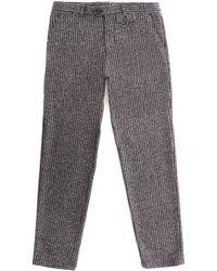 Oliver Spencer - Fishtail Talborne Trousers - Charcoal - Lyst