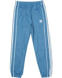 adidas Originals - Authentic Wind Track Trousers - Blanch Blue & White - Lyst