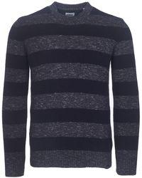 Edwin - Navy Standard Stripes Jumper - Lyst