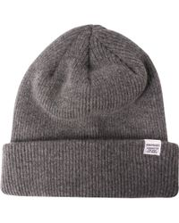 Norse Projects - Norse Beanie Light Grey Melange - Lyst