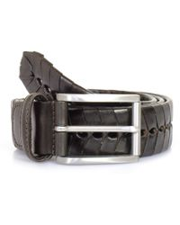 Andersons - Anderson Belts Andersons Stitched Chevron Leather Belt Pi175/ - Lyst