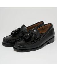 G.H.BASS - Layton Moc Kiltie Tassel Loafers - Black - Lyst