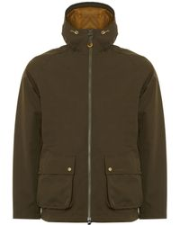 Barbour - Olive Medway Waterproof Jacket - Lyst