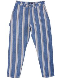 Levi's - Draft Carpenter Trousers - Linen Stripe - Lyst