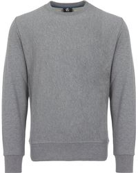 PS by Paul Smith - Grey Loopback-cotton Sweatshirt - Lyst