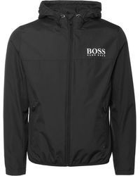 BOSS Athleisure - Black Jeltech Jacket - Lyst