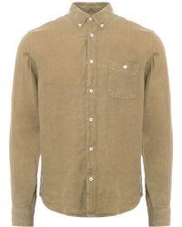 NN07 - Khaki New Derek Oxford Shirt - Lyst