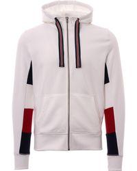 Tommy Hilfiger - Crest Back Hoodie, Bright White Hooded Sweatshirt - Lyst