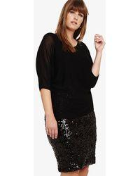 Studio 8 - Pixie Knit Sequin Dress - Lyst
