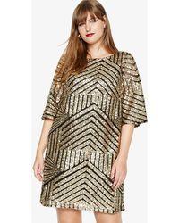 Studio 8 - Gillian Sequin Tunic Dress - Lyst