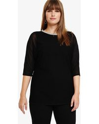 Studio 8 - Daisy Diamante Knitted Top - Lyst