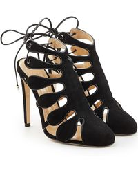 Chloe Gosselin - Calico Suede Pumps - Lyst