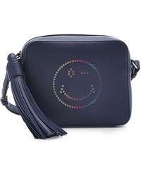 Anya Hindmarch - Rainbow Wink Leather Crossbody Shoulder Bag - Lyst
