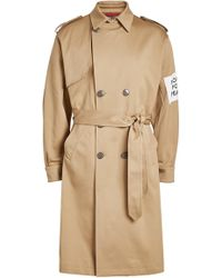 OAMC - Captain Cotton Trench Coat - Lyst