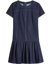 HUGO - Denim Dress - Lyst