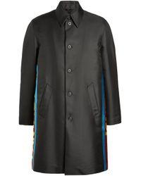 Fendi - Oversized Printed Coat - Lyst