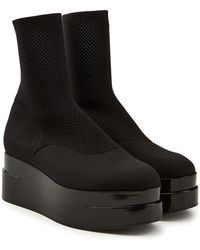 Robert Clergerie - Luise Mesh Ankle Boots - Lyst