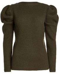 Nina Ricci Woman Chain-embellished Two-tone Knitted Top Antique Rose Size S Nina Ricci Cheap Explore New Arrival Cheap Online npUazEs