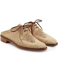 Robert Clergerie - Woven Slip-on Loafers - Lyst
