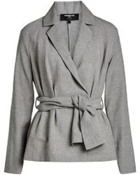 Paule Ka | Jacket With Linen And Cotton | Lyst