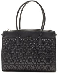 Furla - Pin Cometa M Quilted Leather Shopper - Lyst