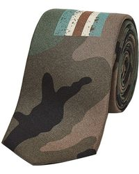 Valentino | Printed Silk Tie | Lyst