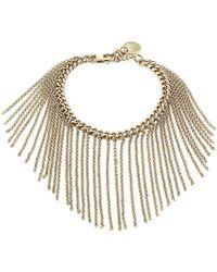 Nina Ricci - Fringed Chain Bracelet - Lyst