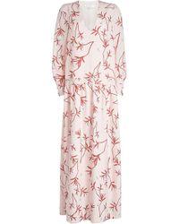 Borgo De Nor - Anya Printed Maxi Dress - Lyst