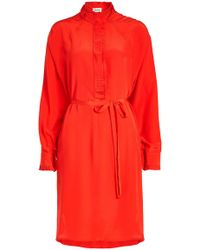 Zadig & Voltaire - Rizzo Silk-crepe Shirt Dress - Lyst