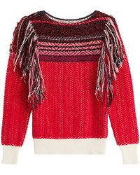 Marc Jacobs   Knit Pullover With Tassels   Lyst
