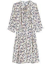 Zadig & Voltaire - Remus Printed Silk Dress - Lyst
