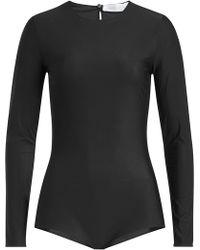 Victoria Beckham - Long Sleeve Body - Lyst