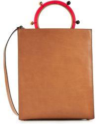 Marni - Pannier Leather Bag - Lyst